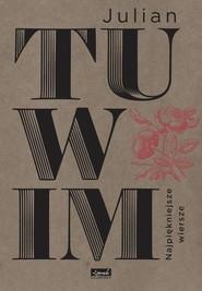 okładka Najpiękniejsze wiersze, Książka | Julian Tuwim