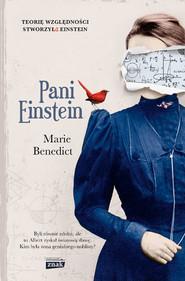 okładka Pani Einstein, Książka | Marie Benedict