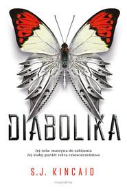 okładka Diabolika, Książka | S.J. Kincaid