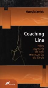 okładka Coaching Line Nowe wyzwania dla kadr, menedżerów i dla Ciebie, Książka | Szmidt Henryk