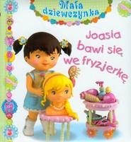 okładka Joasia bawi się we fryzjerkę, Książka | Christelle Mekdjian, Nathalie Belineau, Emilie Beaumont