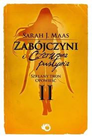 okładka Szklany Tron Opowieść 2 Zabójczyni i Czerwona Pustynia, Książka   Sarah J. Maas
