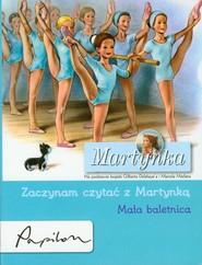 okładka Martynka Zaczynam czytać z Martynką Mała baletnica, Książka   Gilbert Delahaye