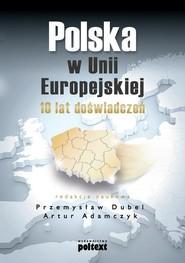 okładka Polska w Unii Europejskiej 10 lat doświadczeń, Książka   Przemysław Dubel, Artur  Adamczyk