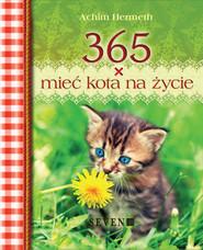 okładka 365 x mieć kota na życie, Książka | Hermeth Achim