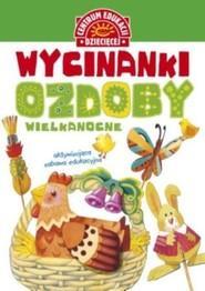 okładka Wycinanki Ozdoby wielkanocne, Książka   Szarf Maria