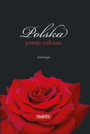 okładka Polska poezja miłosna Antologia, Książka |
