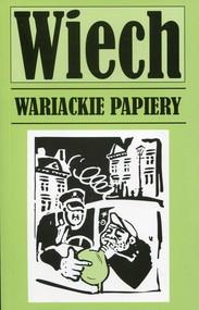 okładka Wariackie papiery, Książka   Wiechecki Stefan Wiech