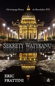 okładka Sekrety Watykanu, Książka | Eric Frattini