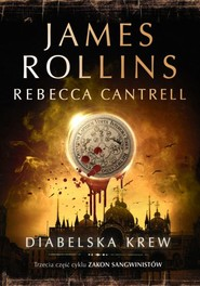 okładka Diabelska krew, Książka | James Rollins