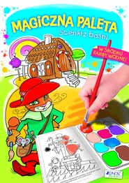 okładka Magiczna paleta Scenki z baśni, Książka | Żołądek Barbara