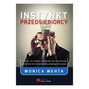 okładka Instynkt przedsiębiorcy, Książka | Mehta Monica