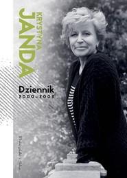 okładka Dziennik 2000-2002, Książka   Krystyna Janda