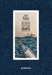 okładka Dzieci kapitana Granta, Książka   Juliusz Verne