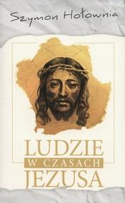 okładka Ludzie w czasach Jezusa, Książka   Szymon Hołownia