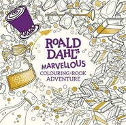 okładka Roald Dahl's Marvellous Colouring-Book Adventure, Książka | Roald Dahl
