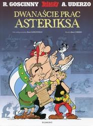 okładka Asteriks Dwanaście prac Asteriksa, Książka | René Goscinny, Albert Uderzo