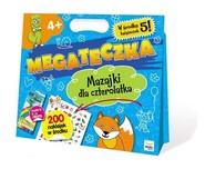 okładka Mega Teczka - Mazajki Czterolatka, Książka   Lewandowska Barbara