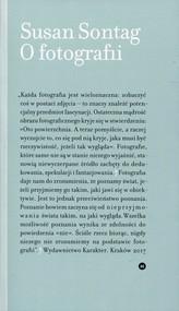 okładka O fotografii, Książka | Susan Sontag