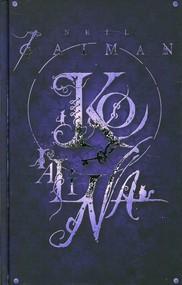 okładka Koralina, Książka   Neil Gaiman