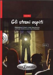 okładka Gli strani ospiti + CD, Książka | Brisi Luisa