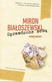 okładka Sprawdzone sobą Wybór wierszy, Książka | Białoszewski Miron