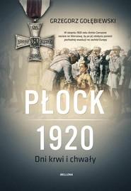 okładka Płock 1920, Książka | Gołębiewski Grzegorz