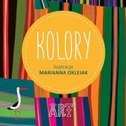 okładka Kolory, Książka | Marianna Oklejak