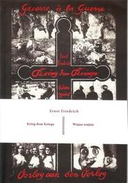 okładka Wojna Wojnie, Książka | Friedrich Ernst