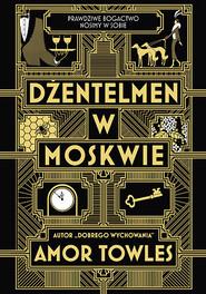 okładka Dżentelmen w Moskwie, Książka | Amor Towles