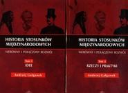 okładka Historia stosunków międzynarodowych Tom 1-2, Książka | Gałganek Andrzej
