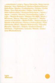 okładka Czterdzieści i cztery Figury literackie. Nowy kanon, Książka  