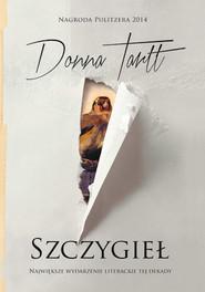 okładka Szczygieł, Książka | Donna Tartt