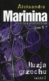 okładka Iluzja grzechu Część 2, Książka | Aleksandra Marinina