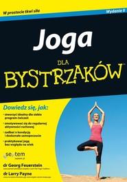 okładka Joga dla bystrzaków / Superkompetencja pakiet, Książka | Georg Feuerstein, Larry Payne