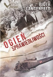okładka Zimna Wojna 1 Ogieńsprawiedliwości, Książka | Piotr Langenfeld