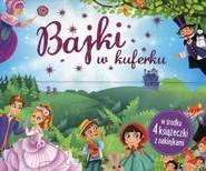 okładka Bajki w kuferku 4 książeczki z naklejkami, Książka |