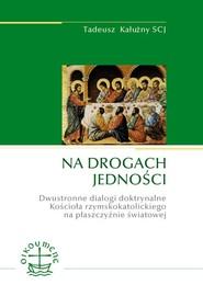 okładka Na drogach jedności Dwustronne dialogi doktrynalne Kościoła rzymskokatolickiego na płaszczyźnie światowej, Książka | Kałużny Tadeusz