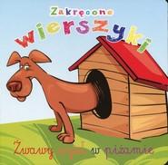 okładka Zakręcone wierszyki Żwawy wyżeł w piżamie, Książka | Urszula Kozłowska