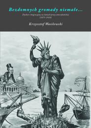 okładka Bezdomnych gromady niemałe Dyskurs imigracyjny na łamach prasy amerykańskiej (1875-1924), Książka | Wasilewski Krzysztof