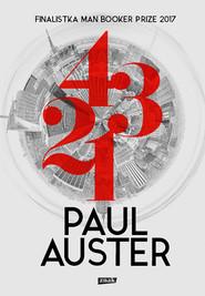 okładka 4 3 2 1, Książka | Paul Auster