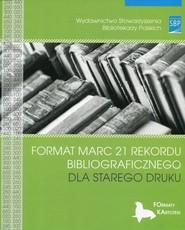 okładka Format MARC 21 rekordu bibliograficznego dla starego druku, Książka  