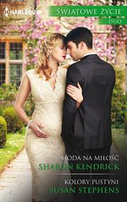 okładka Moda na miłość Kolory pustyni, Książka | Sharon Kendrick, Susan Stephens