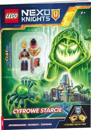 okładka Lego Nexo Knights Cyfrowe starcie LNC-805, Książka  