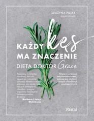 okładka Każdy kęs ma znaczenie Dieta doktor Grace, Książka | Dr Grażyna Pająk (drGRACE)