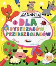 okładka Zadania dla bystrzaków przedszkolaków 1, Książka  