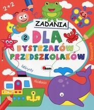 okładka Zadania dla bystrzaków przedszkolaków 2, Książka  