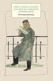 okładka Korespondencja, Książka | Maria Czapska, Józef Czapski, Zbigniew Herbert, Katarzyna Herbert