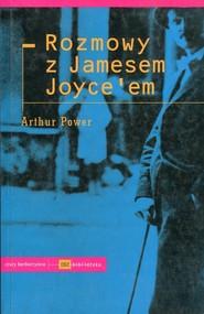 okładka Rozmowy z Jamesem Joyceem, Książka | Power Arthur