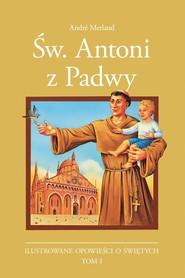 okładka Św. Antoni z Padwy, Książka | Melaud Andre